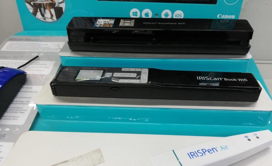 L'achat d'un scanner de poche en ligne